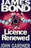 книга Licence Renewed